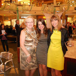 Andi Sell (Capri Contractors), Melanie Pace, Vicky Bucher (Century Link) At Fashion Night at The Mall at Millenia