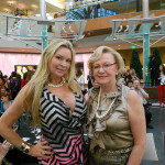 Jackie Siegel (Westgate Resorts and star of the movie The Queen of Versailles), Andi Sell (Capri Contractors) At Fashion Night at The Mall at Millenia