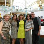 Andi Sell (Capri Contractors), Vicky Bucher(Century Link) At Fashion Night at The Mall at Millenia