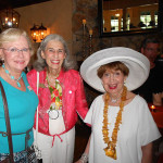Andi Sell (Capri Contractors, Inc.), Lois Silverberg, Harriett Lake — with Andrea Sell (Andi) At the Orange Appeal Birthday Celebration at Dubsdread Country Club