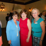 Carmenza Gonzalez, Mrs. Gary Sain, Andi Sell (Capri Contractors, Inc.) At the Orange Appeal Birthday Celebration at Dubsdread Country Club